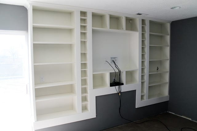 Billy Bookcase Desk: Built In Billys Part 3