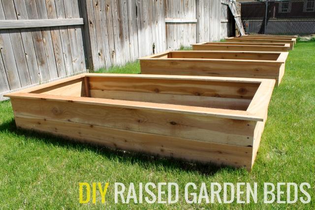 Our Diy Raised Garden Beds Chris, Diy Cedar Raised Garden Planter