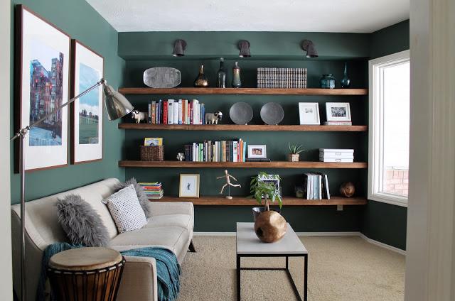 6758e92906 The Reading Room Shelves: Fully Loaded - Chris Loves Julia