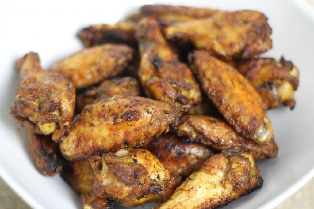 Dry-Rubbed Baked Chicken Wings - Chris Loves Julia