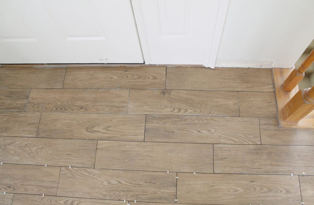 Tips for achieving realistic faux wood tile chris loves julia tips for achieving realistic faux wood tile dailygadgetfo Images