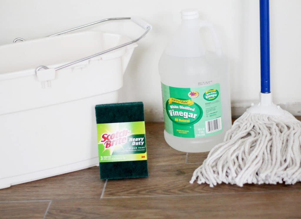 Removing Grout Haze the Easy Way - Chris Loves Julia