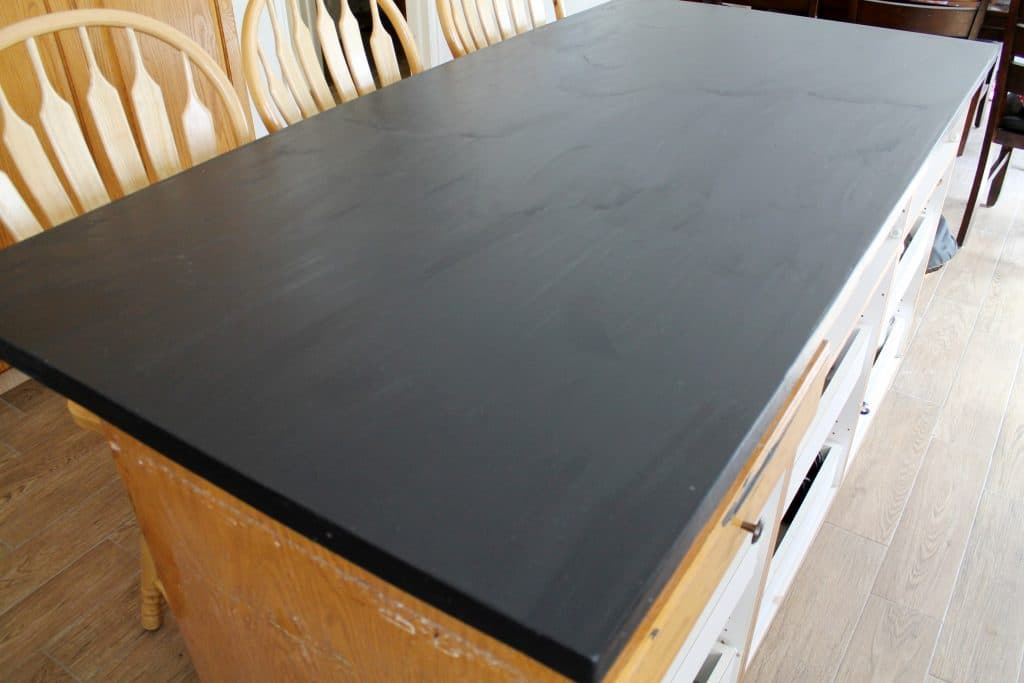 DIY Faux Soapstone Countertop - Chris Loves Julia