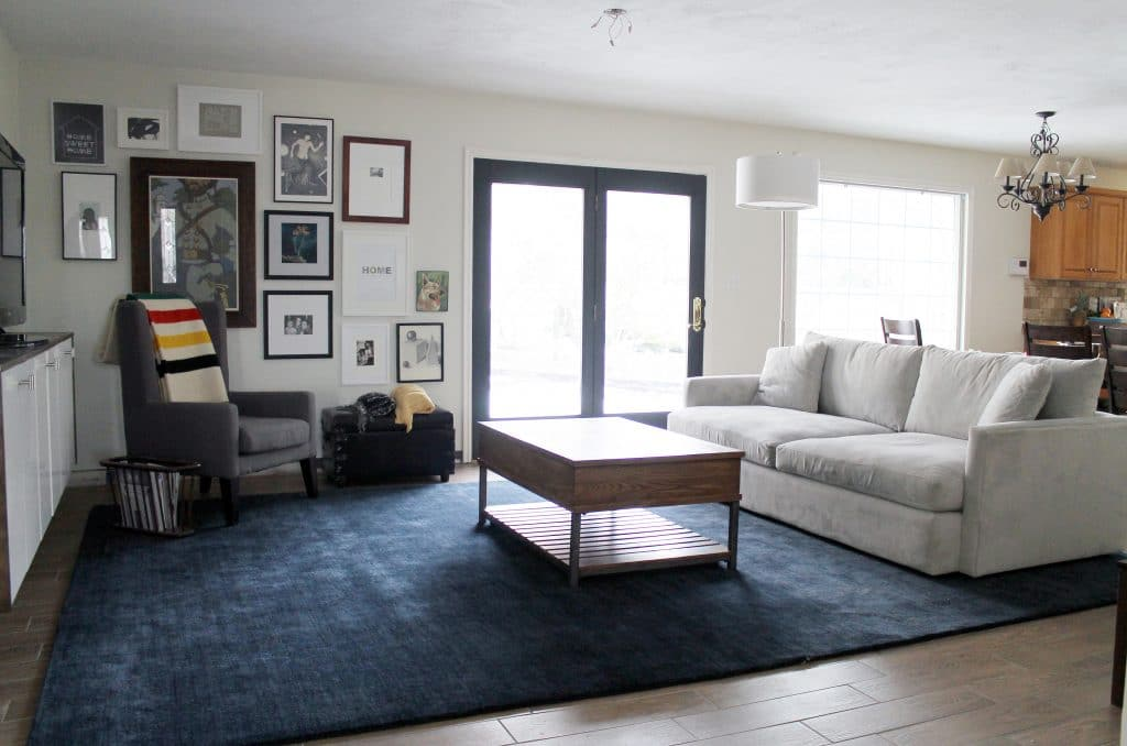 loves julia a neutral bold area rug transforms the living roomopt1