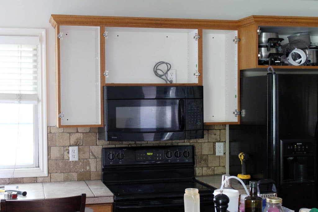View All Microwaves U003e. Ft Microwave. Move Cabinet Up To Fit An ...