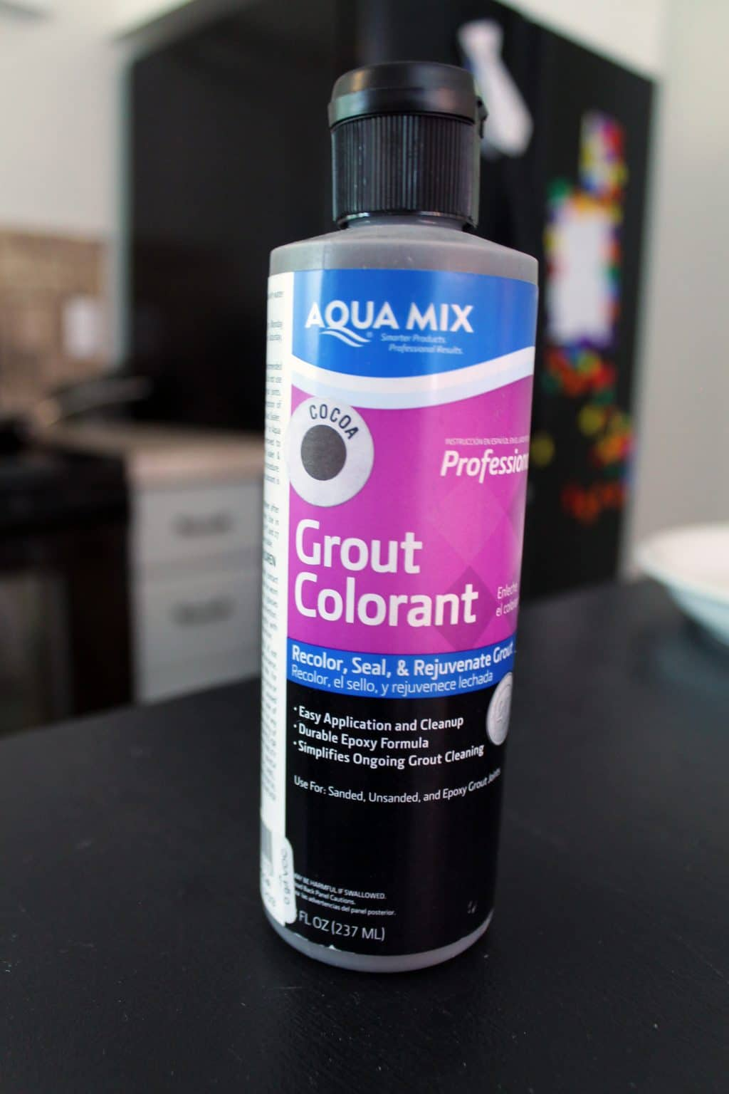 Dyeing Grout [A Floor Update!] - Chris Loves Julia
