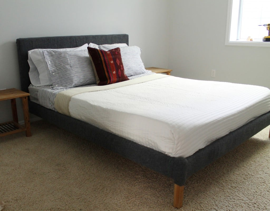 Beginner's Guide to Upholstering a Bed