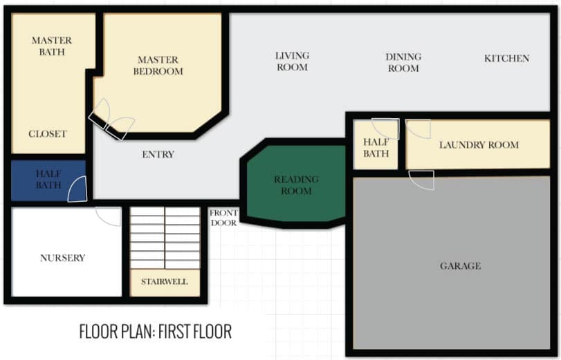 The new laundry walk in pantry plans chris loves julia - Laundry room floor plans ...