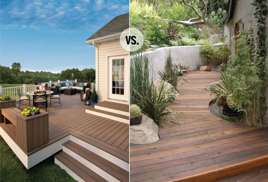 Would You Rather: Real Wood vs  Composite Decking - Chris Loves Julia
