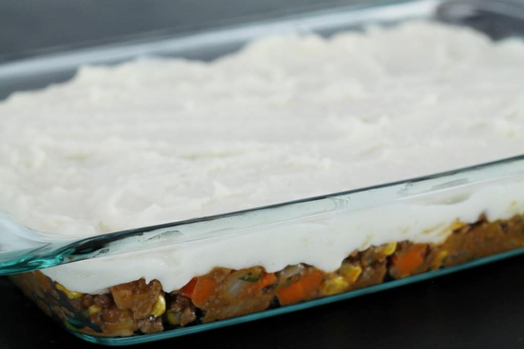 Uncooked Shephard's Pie