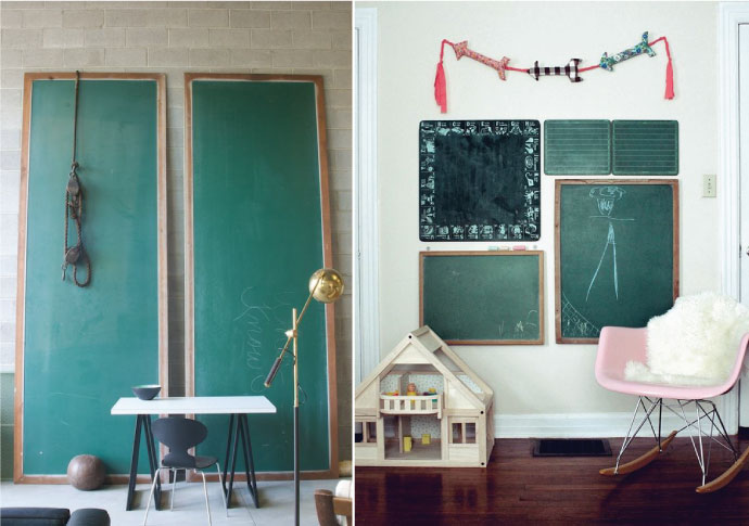 Would You Rather: Green or Black Chalkboards? - Chris Loves Julia