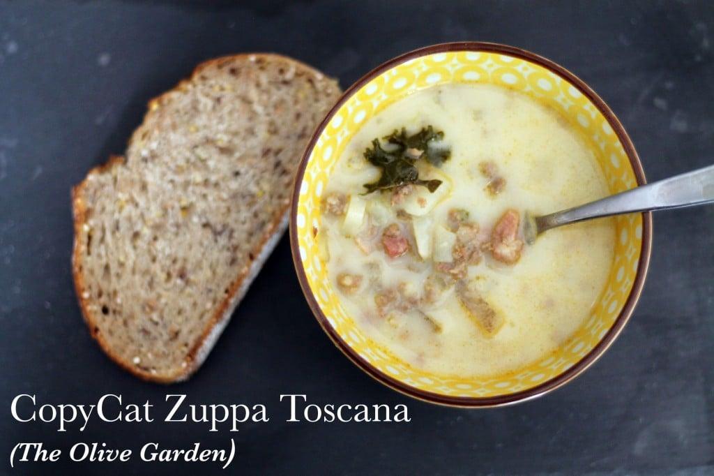 CopyCat Zuppa Toscana - The Olive Garden