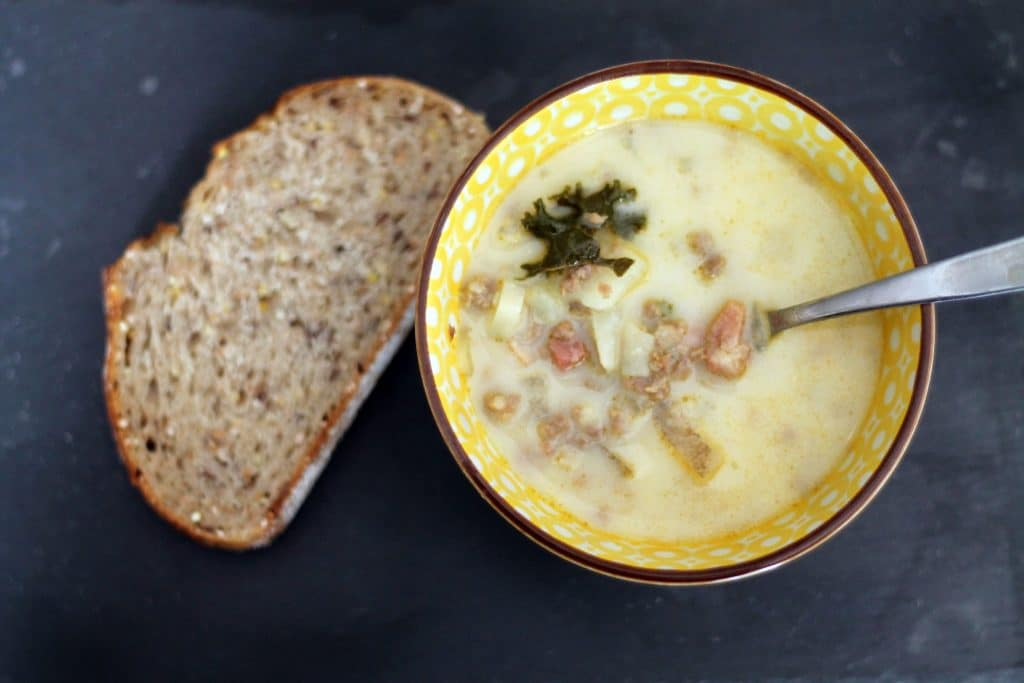 Zuppa Toscana - One of My Favorite Soups. Ever. - Chris Loves Julia