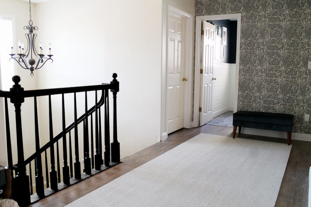 Option B. Black Handrail And Newels With White Spindles. This Is Super  Classic And Traditionalu2013I Worry It May Look Too Fancy For Our Casual Taste.