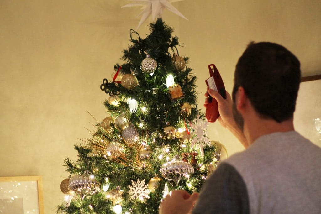 How Do I String Lights On A Christmas Tree : PSA: Instantly Fix Your Burnt Out Christmas Lights - Chris Loves Julia