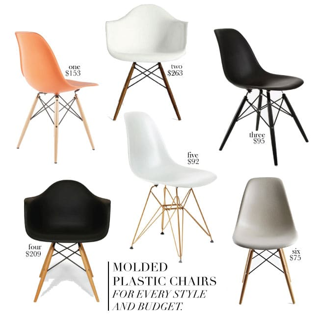 Molded Plastic Chairs For Every Style