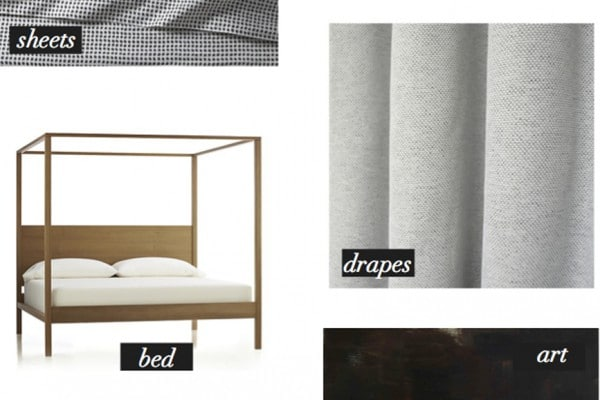 bedroom mood board copy