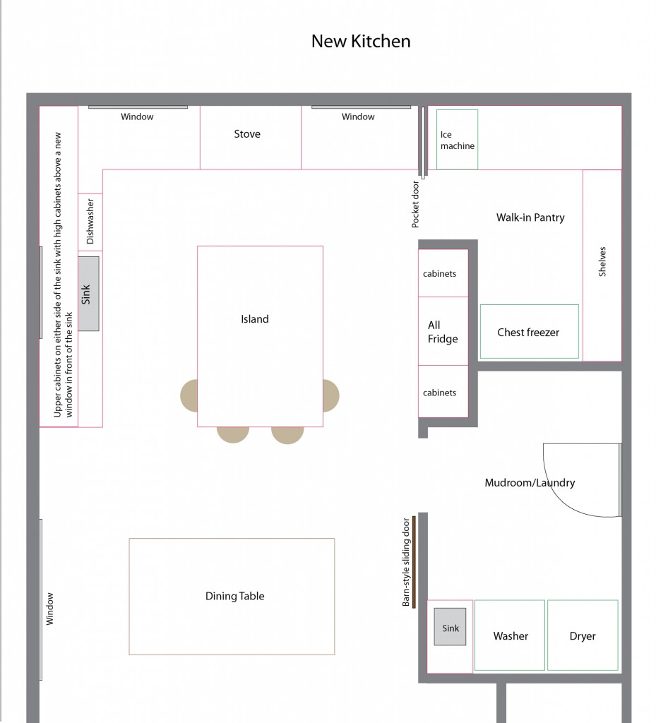 new floor plan