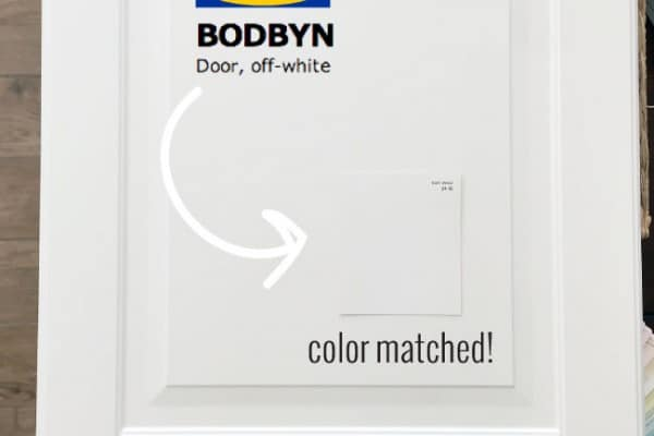 Ikea-Bodbyn-cabinets-color-matched
