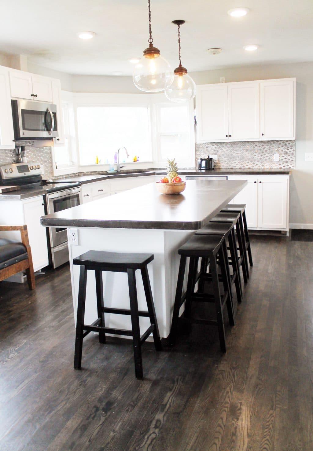 An Unbelievable, Complete DIY Kitchen Renovation - Chris Loves Julia