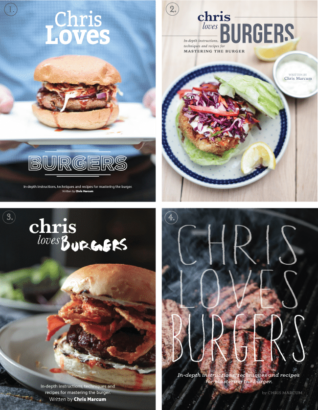 Chris Loves Julia Cooking eBook Covers