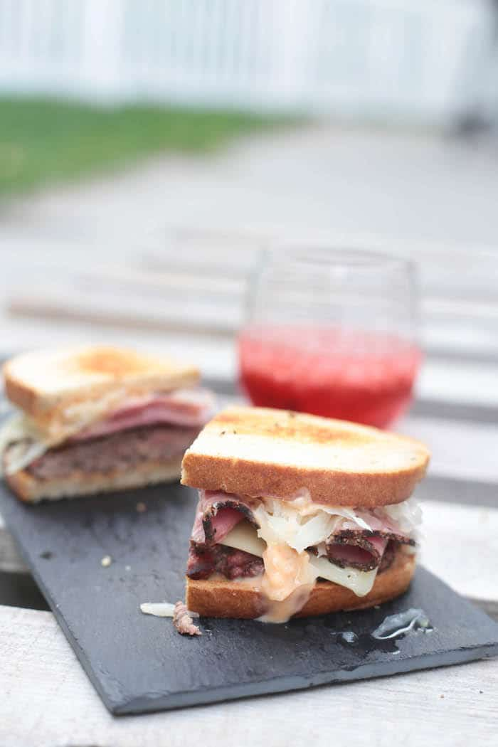 The Reuben Burger
