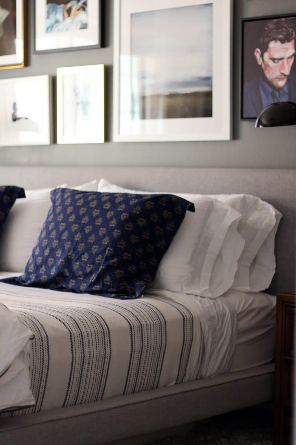 A Gallery Wall in the Master Bedroom Tips on Creating Your Own