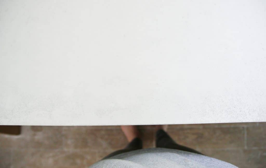 DIY White Concrete Countertops | Chris Loves Julia ...