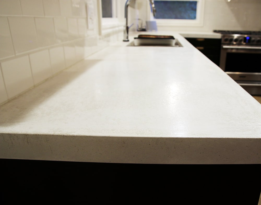 High Quality After Sealing, The Countertops Have To Cure 6 Days Before They Can Get Any  Water On Them. They Were Dry To The Touch The Next Day And We Were Able To  Cover ...