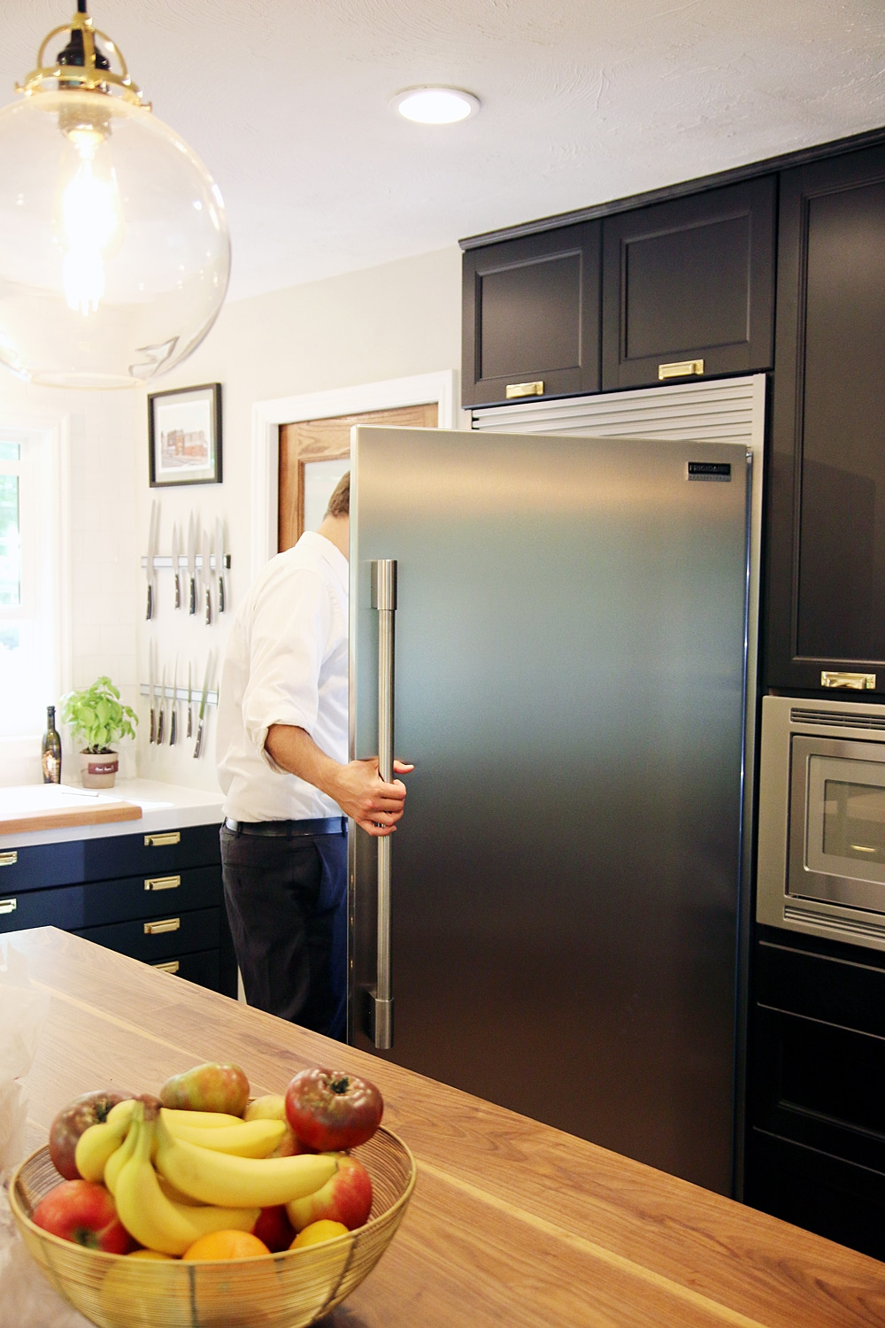 The Entire Frigidaire Professional Collection Is Smudge Proof Which So Practical For Our Family With Small Children It S Probably My Favorite Part