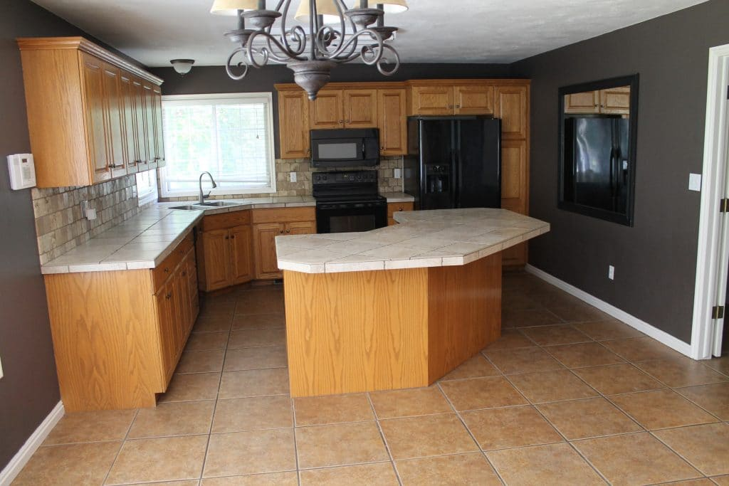 Best Deal On Kitchen Cabinets Its Done The Full Kitchen Reveal Chris Loves Julia