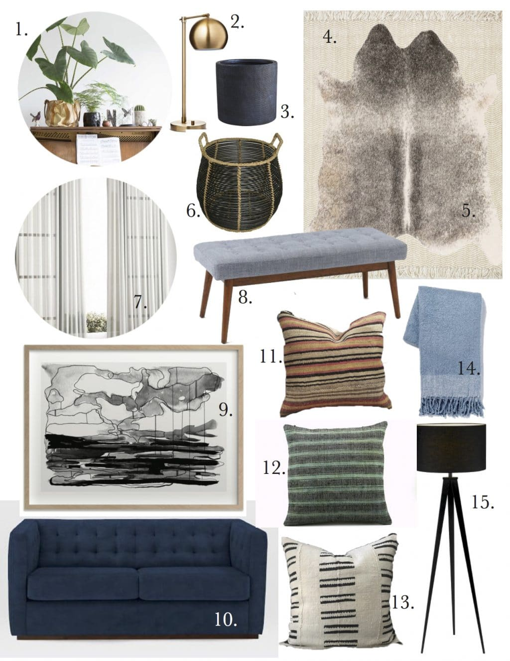 Music Room Mood Board copy