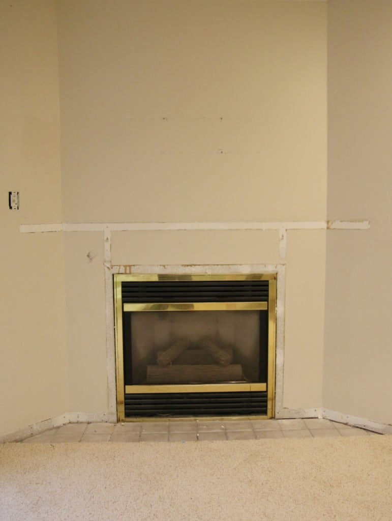 How To Make An Outdated Fireplace Insert Look Like A Million Bucks