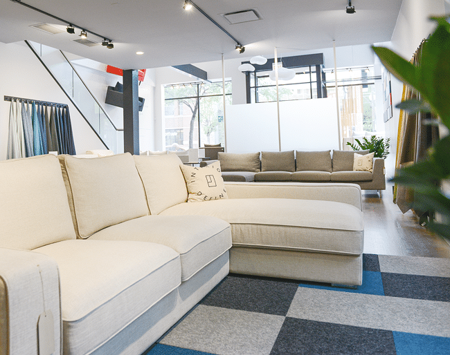 A Custom Sectional For Downstairs At An Attainable Price