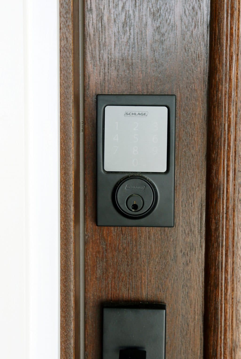 Sneak peek at the new front door schlage giveaway for New front door