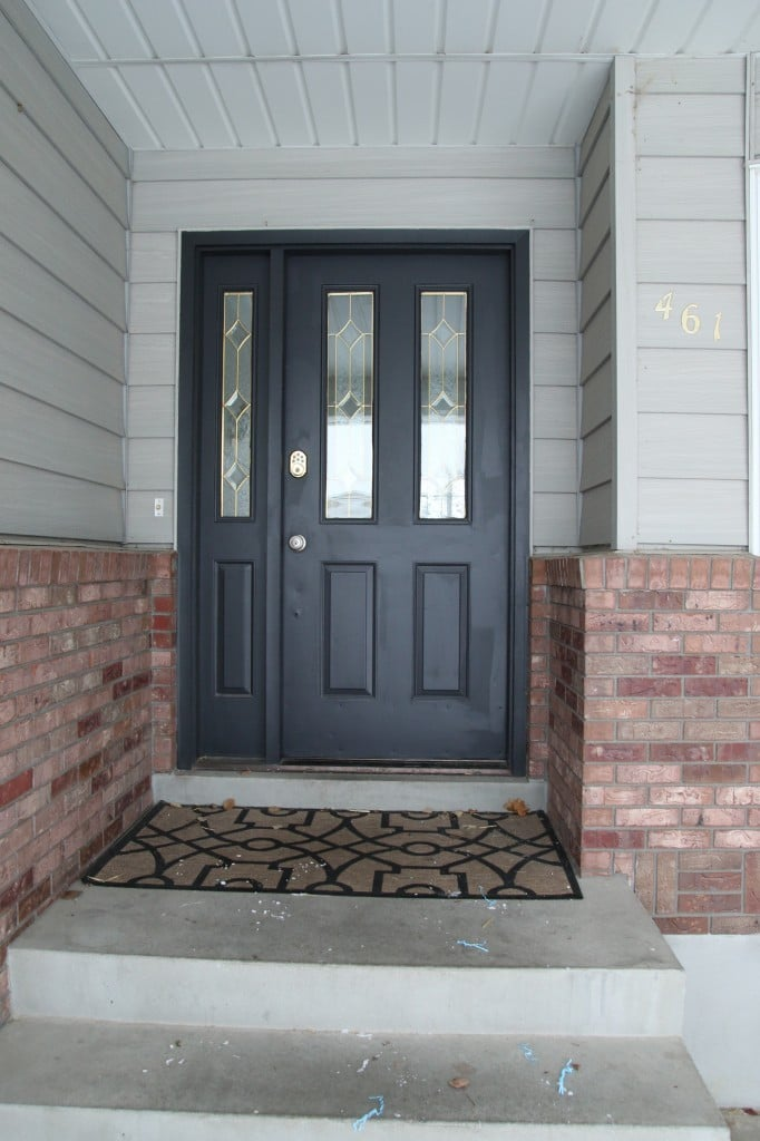 Before and After: Our New Front Door!