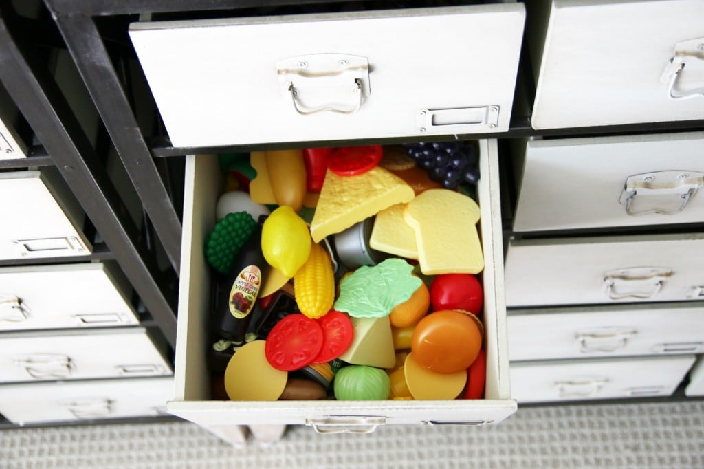 A Peek Into our Toy Storage in the Playroom | Chris Loves Julia