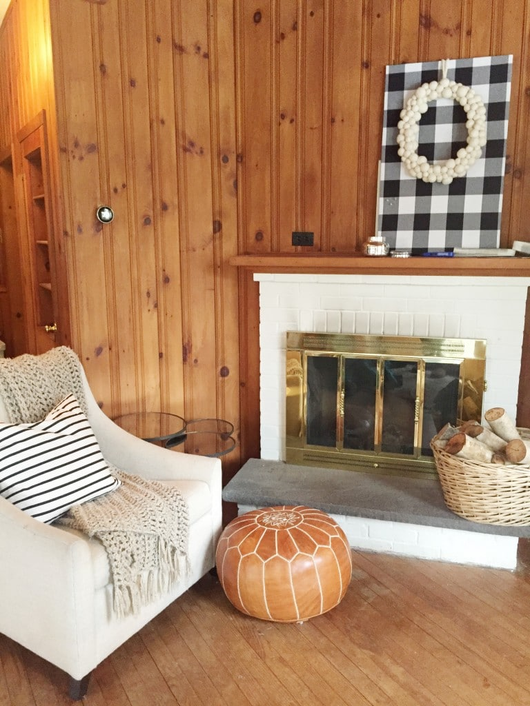 Lowe's Spring Makeover Afters: A Modern Lake House Entry/Sitting Room