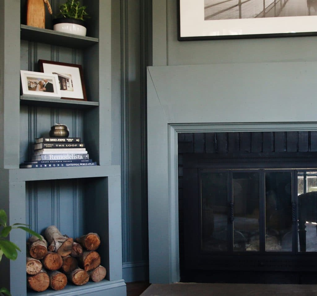 Lowes Spring Makeover Afters A Modern Lake House Entry