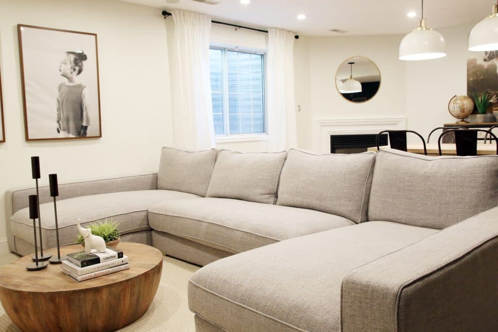 Our New Sectional from Interior Define Chris Loves Julia
