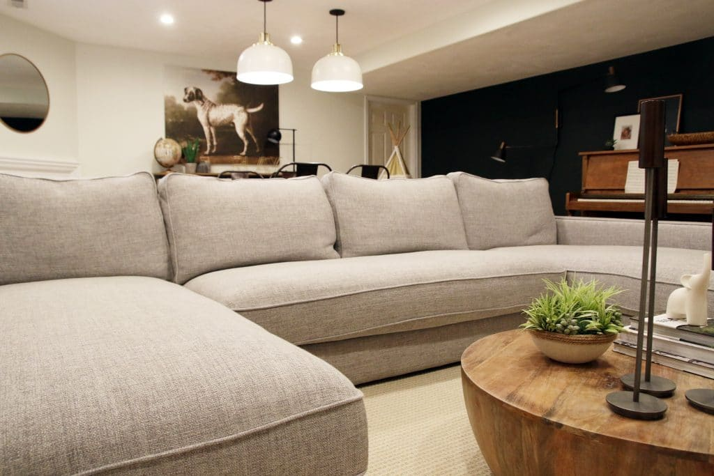 Our New Sectional From Interior Define