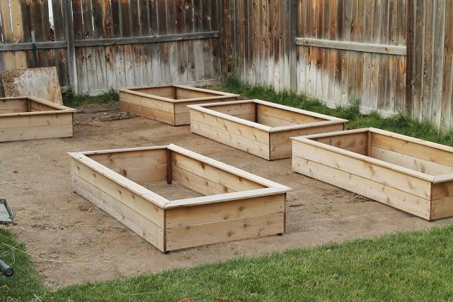 Raised Garden Beds | Chris Loves Julia