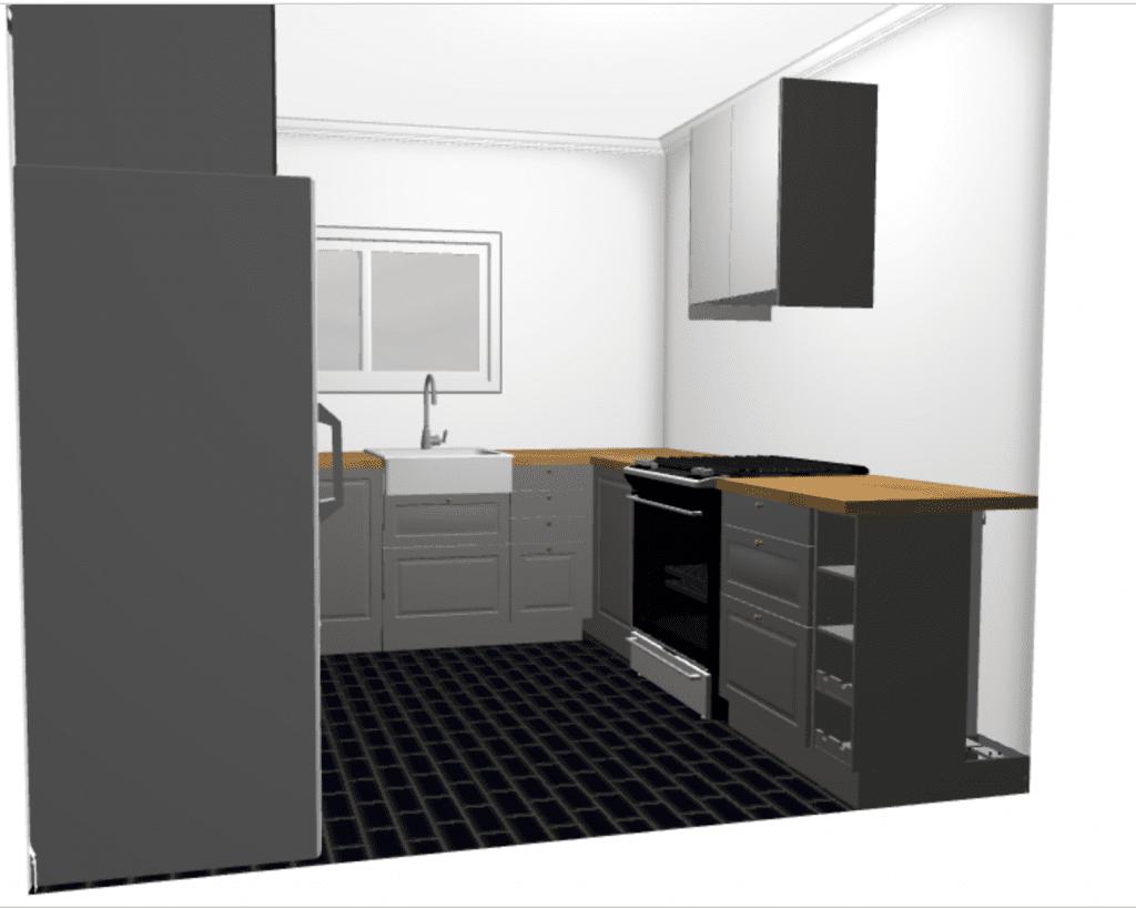 100 Expanded Kitchen Floorplan Transforms Historic Sun