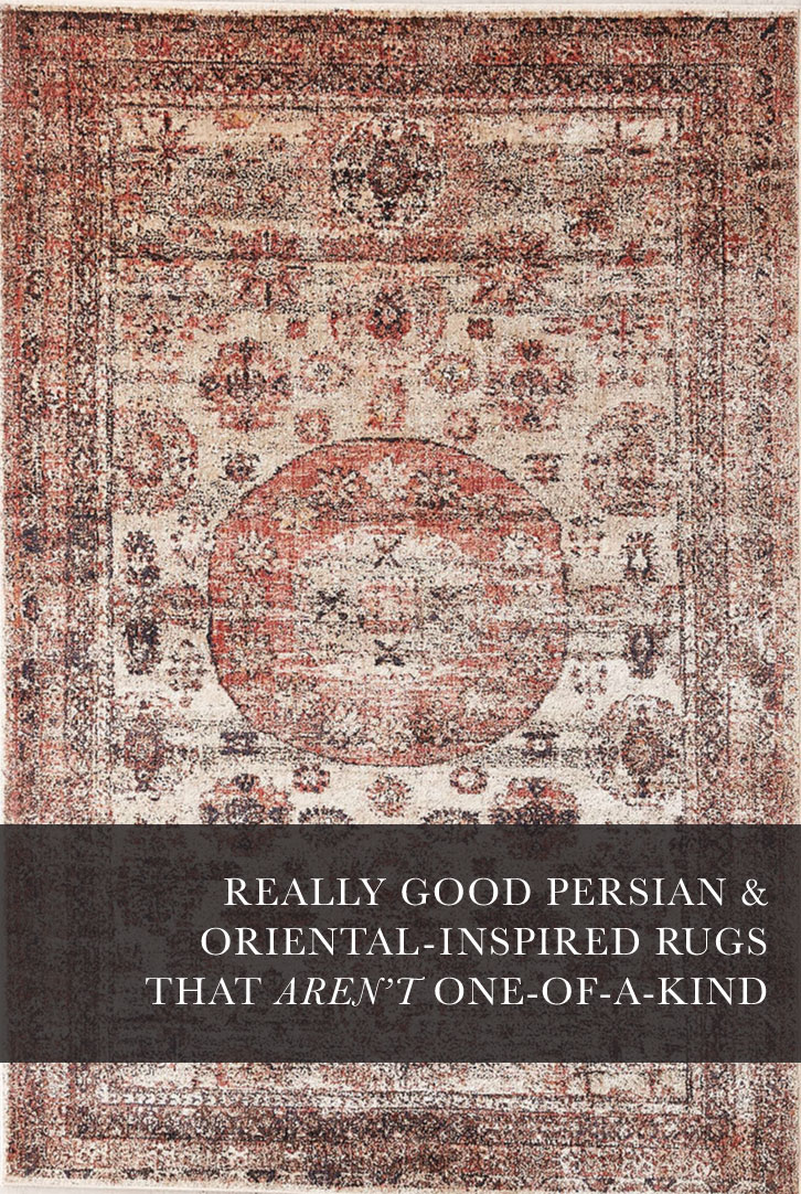 Really Good Persian And Oriental Inspired Rugs That Aren T One Of A