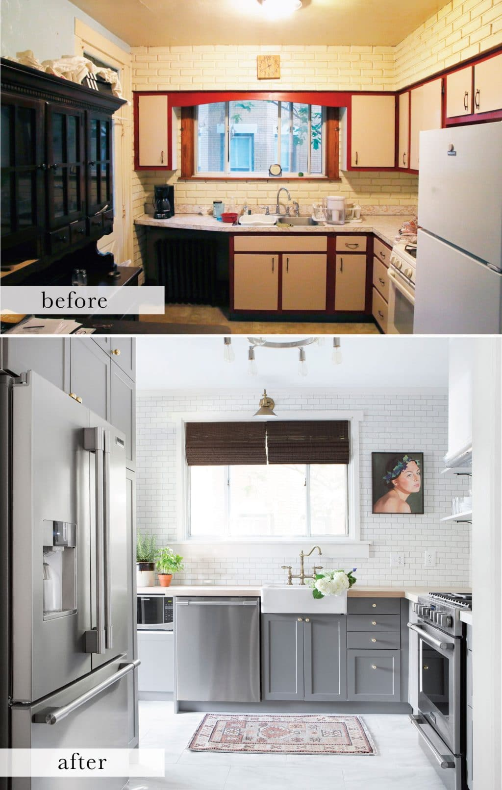 Before and After: A Small, Pittsburgh Kitchen Gets A Complete ...