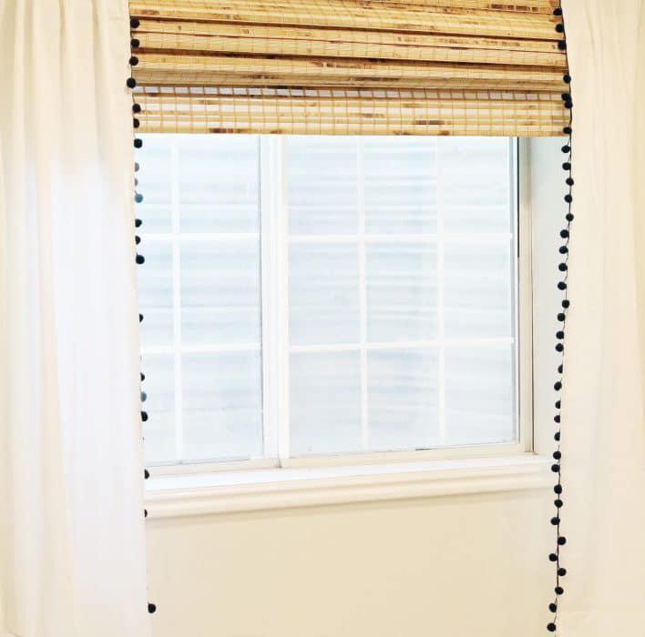 diy-pompom-curtains