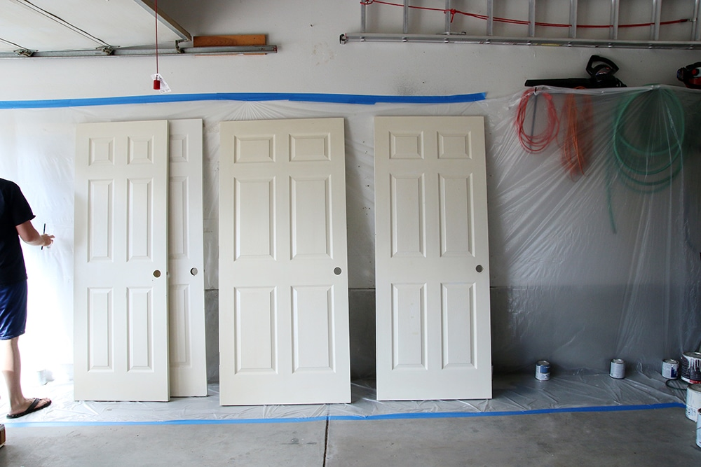 Superior Spray Painting Interior Doors Photo Gallery