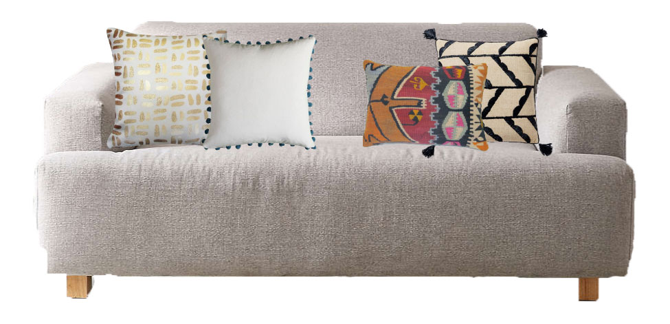 5 Pillow Combinations Under $100! | Chris Loves Julia