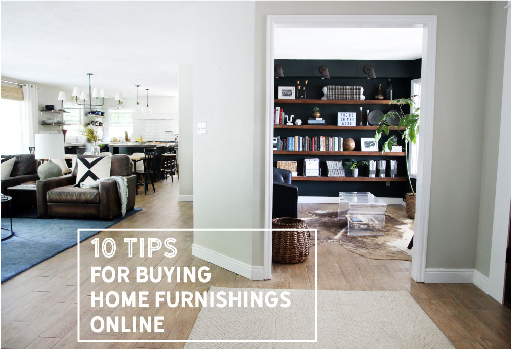 10 Tips For Buying Home Furnishings Online