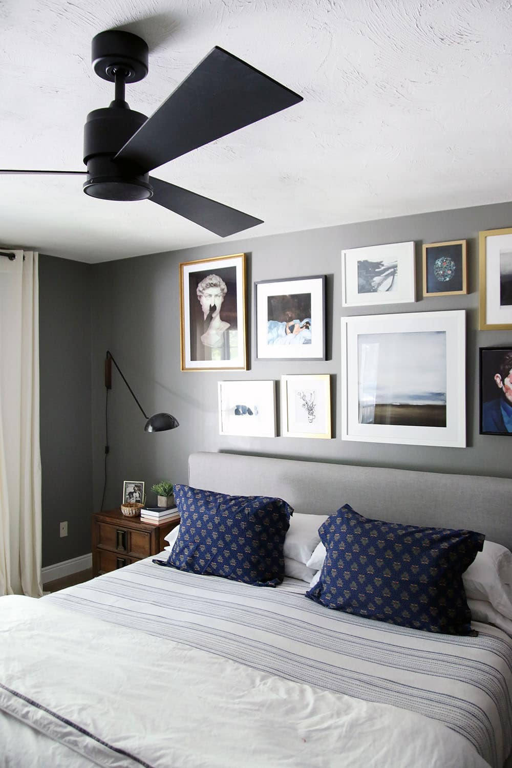 ceiling fans for bedrooms. A Modern Ceiling Fan in our Bedroom  Chris Loves Julia